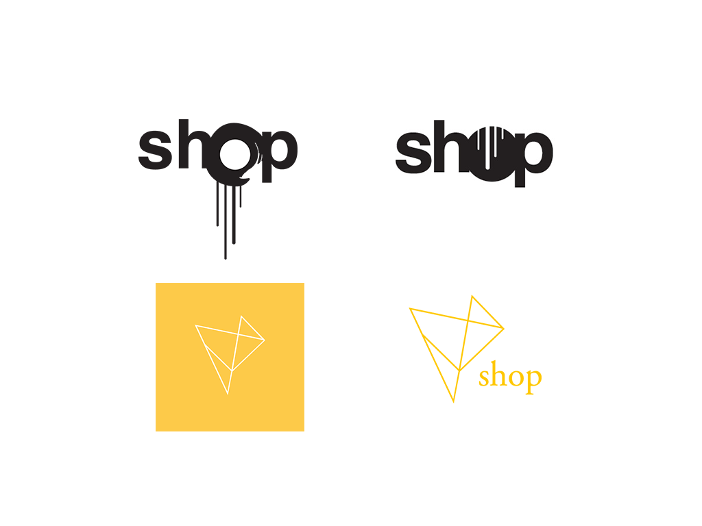 shop logo evolution