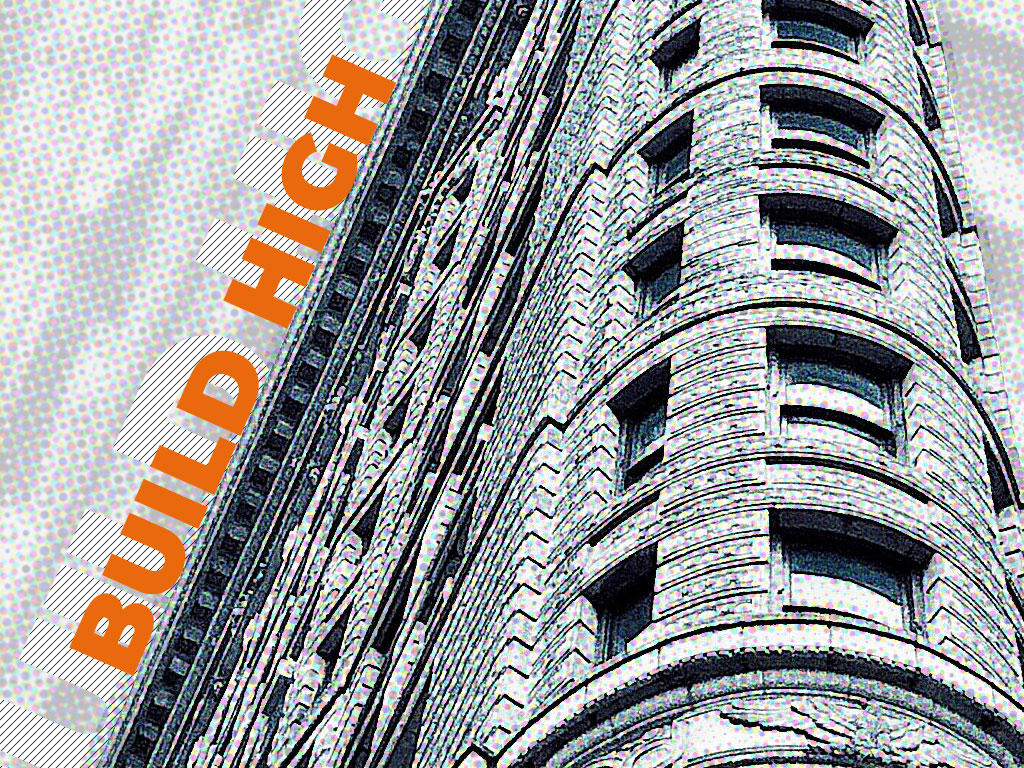 Build High Blog Post Illustration