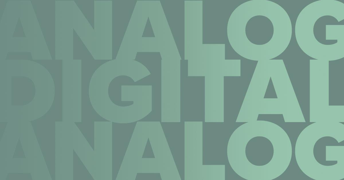 analog vs digital illustration